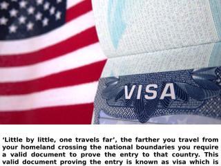 Visa For Indian Nationals.pptx