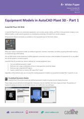 AutoCAD Plant 3D 2016 - Equipment Models Part 1 (1).pdf