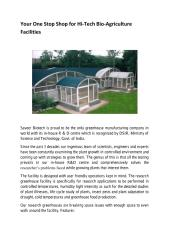 Your One Stop Shop for Hi-Tech Bio-Agriculture Facilities.pdf