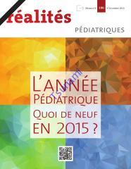 Réalités Pédiatrique N° 196 - 2015.pdf