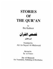 Stories of The QUR'AN - Ibn Kathi'r.pdf
