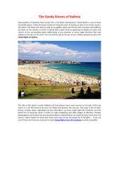 The Sandy Shores of Sydney.pdf