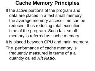 unit 2 Cache Memory Principles.ppt