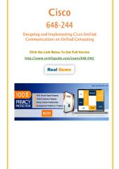 CertifyGuide 648-244 Exam Practice Questions.pdf