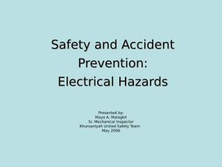 ELECTRICAL HAZARDS.ppt