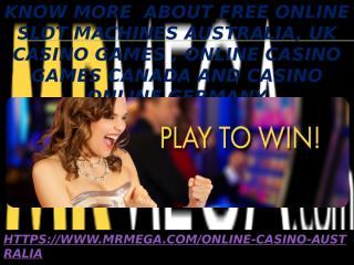 Free Online Slot Machines Australia.pptx