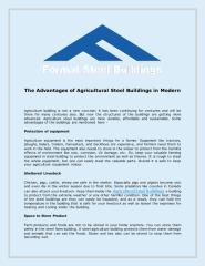 The Advantages of Agricultural Steel Buildings in Modern .pdf
