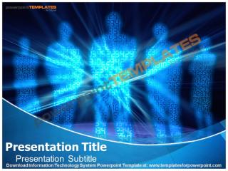 Information Technology System Powerpoint Template.pptx