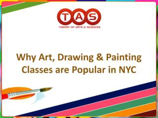 Why Art, Drawing & Painting Classes are Popular in NYC.pdf