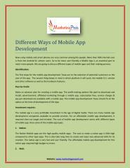 Different Ways of Mobile App Development.pdf