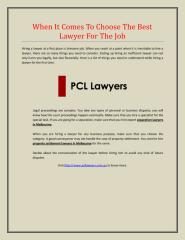 When It Comes To Choose The Best Lawyer For The Job.pdf