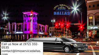 Flower Mound Just Got A Little More Beautiful Thanks to a New Fleet of Limos.pptx