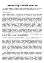 Sveti Sava - Sabrani spisi - Žitije svetog Simeona Nemanje 6.doc