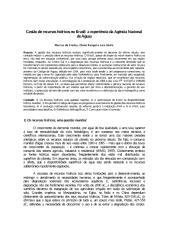 Gestão de recursos hídricos no Brasil- a experiência da Agência Nacional.pdf