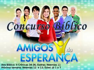 Concurso Bíblico 2011 - 21.ppt